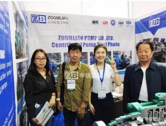 2019越南国际工业博览会:长沙中联泵业自平衡多级泵硬核圈粉