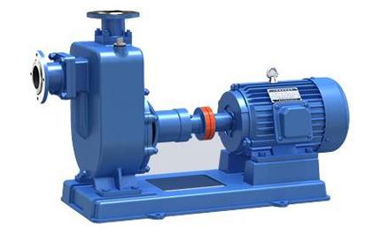 提高自吸排污泵吸程的方法