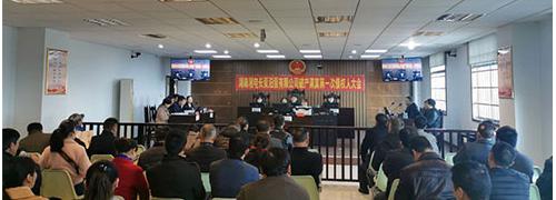 湘电长泵汨泵破产清算案第一次债权人会议在汨罗法院召开