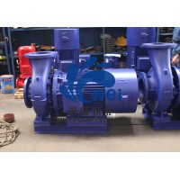 卧式管道离心泵冷热水循环泵380V三相工业泵消防增压泵水泵